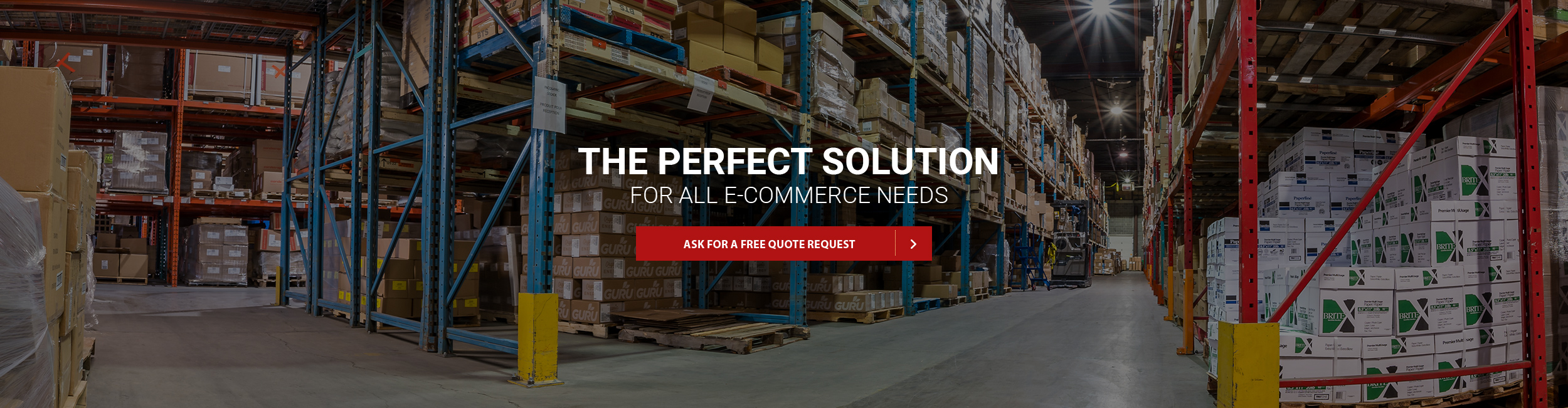 The perfect solution for all e-commerce needs